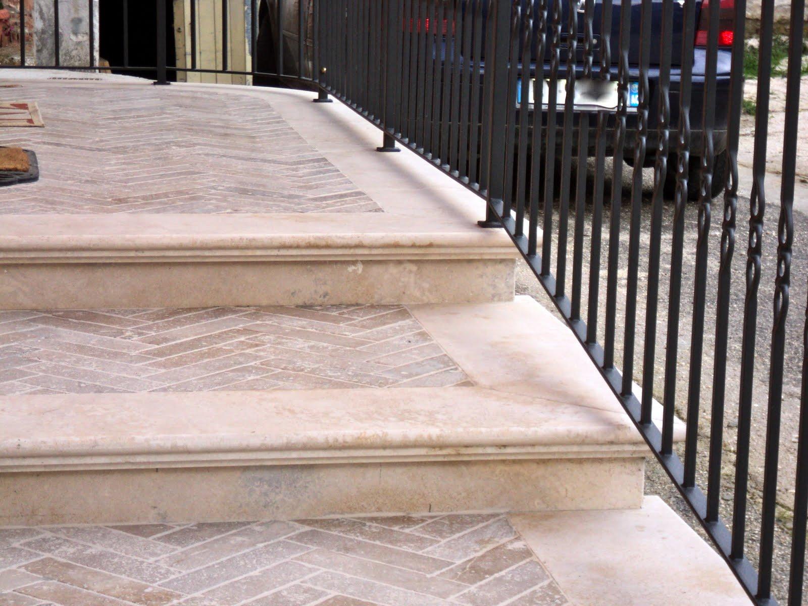 Scale marmo arreda di ciaffone cesidio - Gradini in marmo per esterno ...