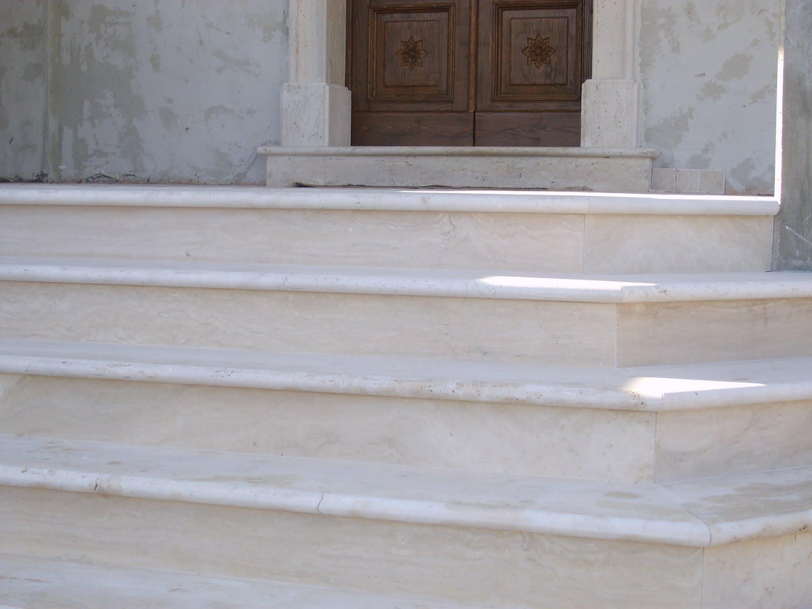 Scale marmo arreda di ciaffone cesidio for Scale esterne in marmo