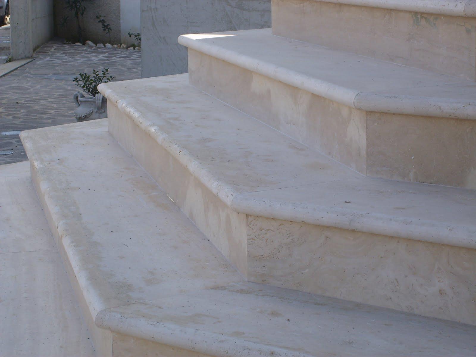 Scale marmo arreda di ciaffone cesidio - Scale ingresso esterno ...